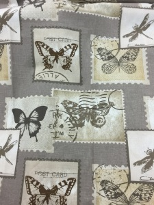 Butterfly stamp natural